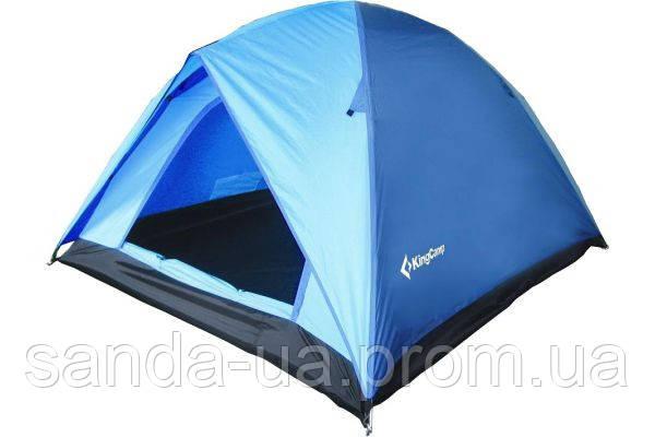 Палатка KingCamp Family 3(KT3073) Blue