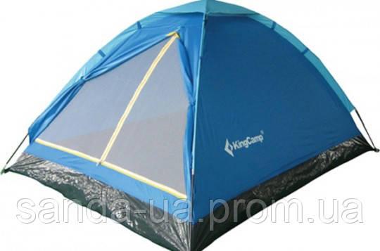 Палатка KingCamp Monodome 3(KT3010) Blue