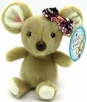 Мягкая игрушка AURORA Мышка девочка 17 см