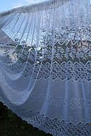 Тюль Сетка  Белый (63004)