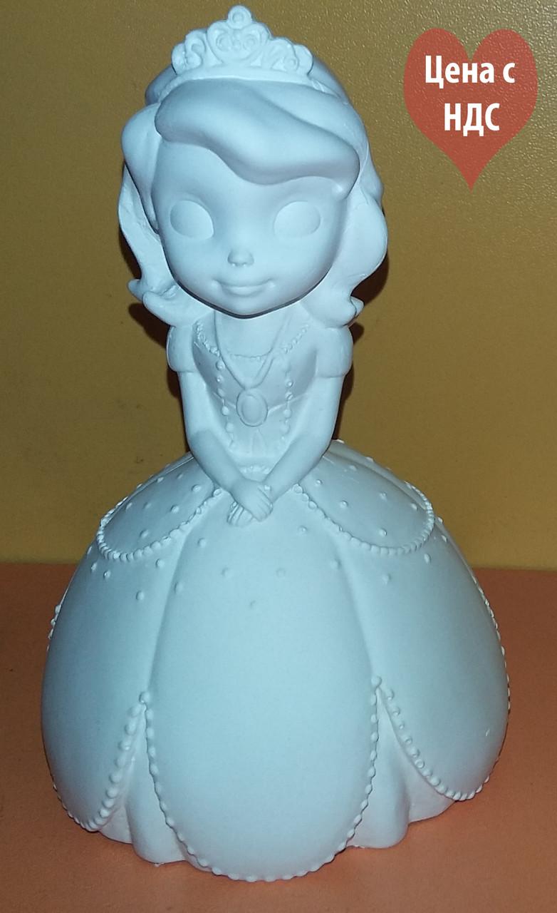 """Гипсовая фигурка """"Принцеса"""" для раскраски"""