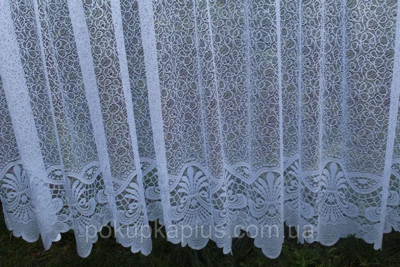 Тюль Сетка 165 х 300 Белый (63001)