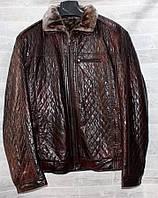 """Куртка мужская кожзам зимняя на меху размеры 48-58 """"JOKER"""" купить недорого от прямого поставщика"""