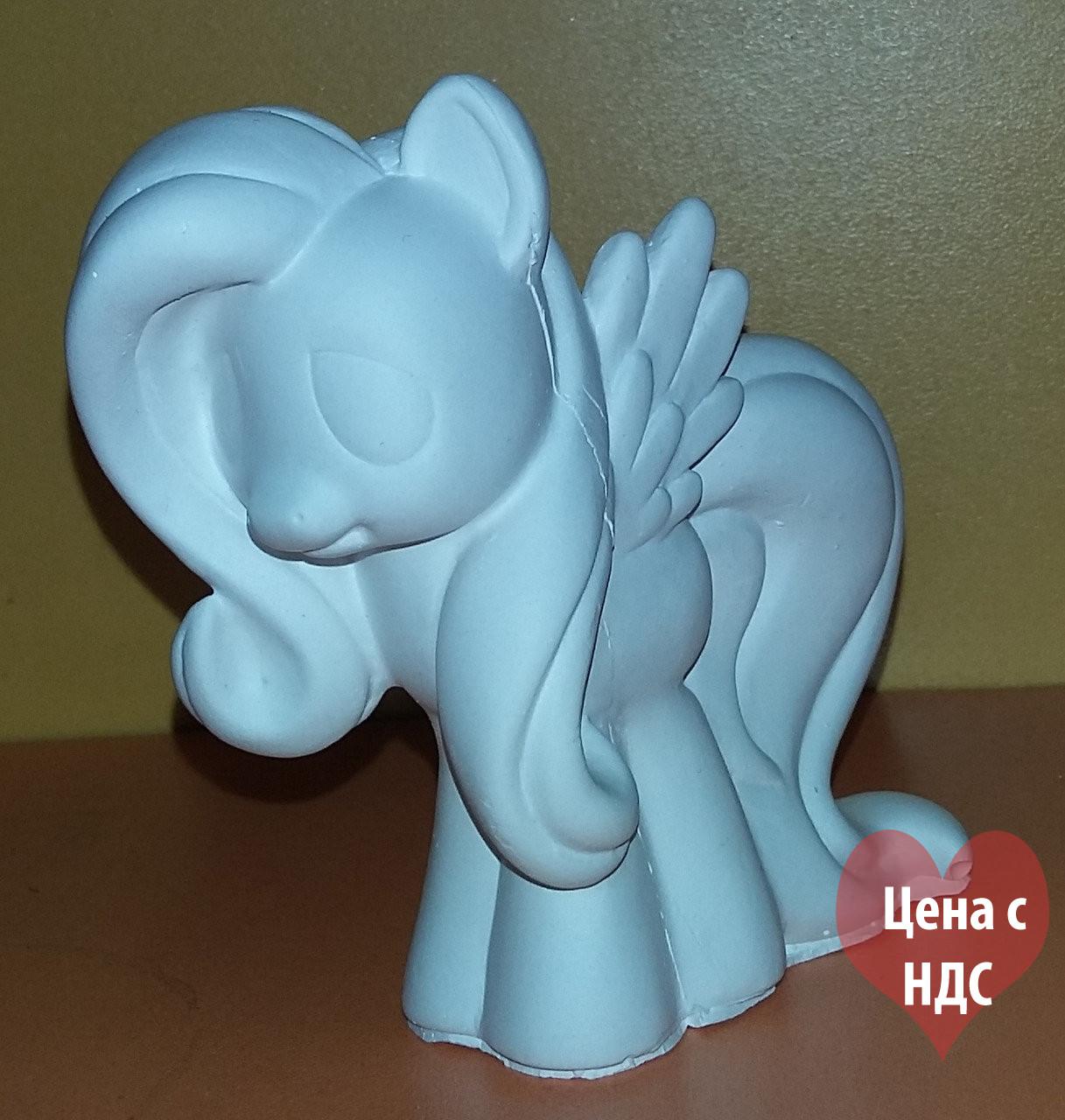 """Гипсовые фигурки для разукрашивания """"Пони с крыльями с чёлкой"""""""
