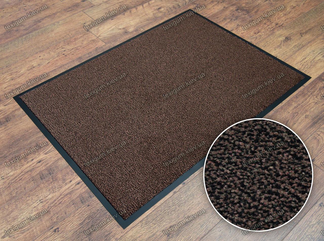 Грязезащитный ковер Париж коричневый 90х150см