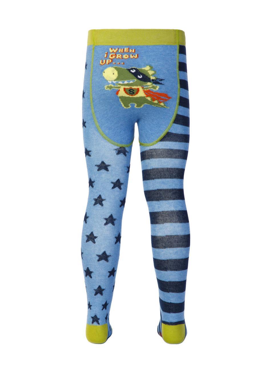 Разноцветные детские колготки Conte kids  TIP-TOP «Веселые ножки» 358, р. 62-74, 72% хлопок