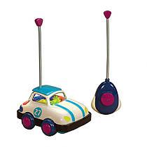 Машина на радиоуправлении с пультом управления со светом и звуком B toys by Battat Rally Ripster