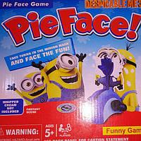 Веселая настольная игра Пирог в лицо Гадкий Я