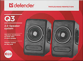 Колонки Defender Q3 Black USB