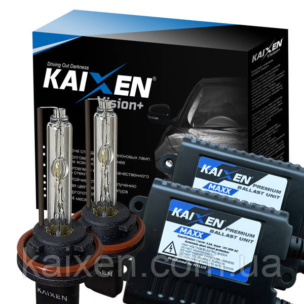 Ксенон H11 4300K 35W 3800Lm KAIXEN MAXX CANBUS