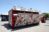 Кафе ресторан из морских контейнеров