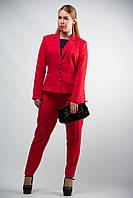 Женский  классический костюм  жакет брюки от бренда Adele Leroy.
