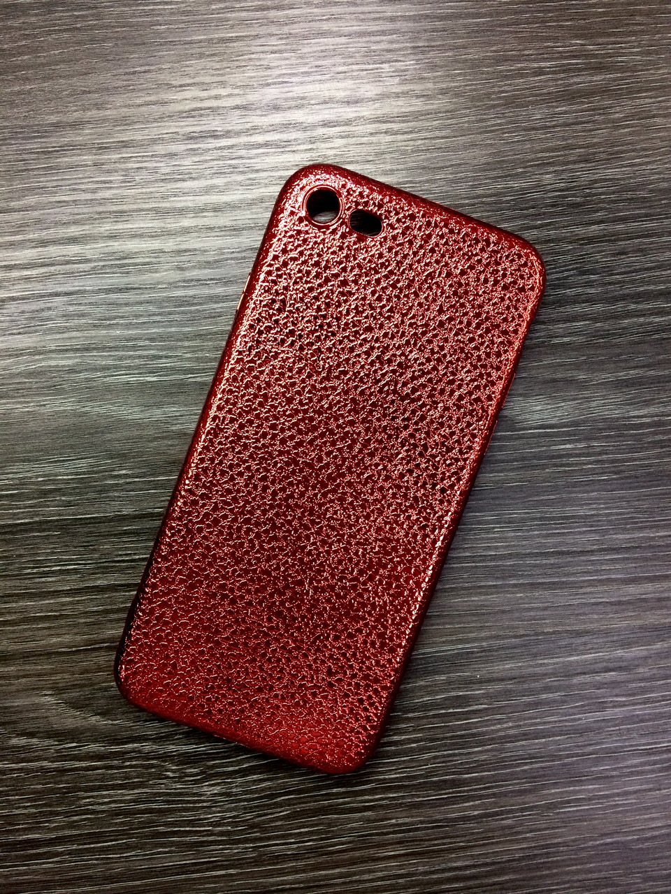 Силиконовый чехол для iPhone 6 / 6S Красный под кожу