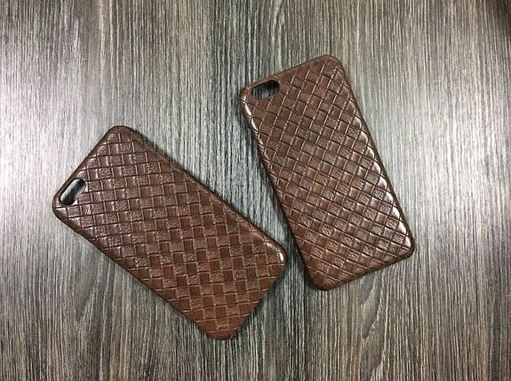Чехол для iPhone 6 Plus / 6S Plus под кожу, коричневый, фото 2