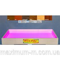 Мобільна світлодіодна пісочниця - планшет МІНІ 16 кольорів, ЯСЕН /500×330