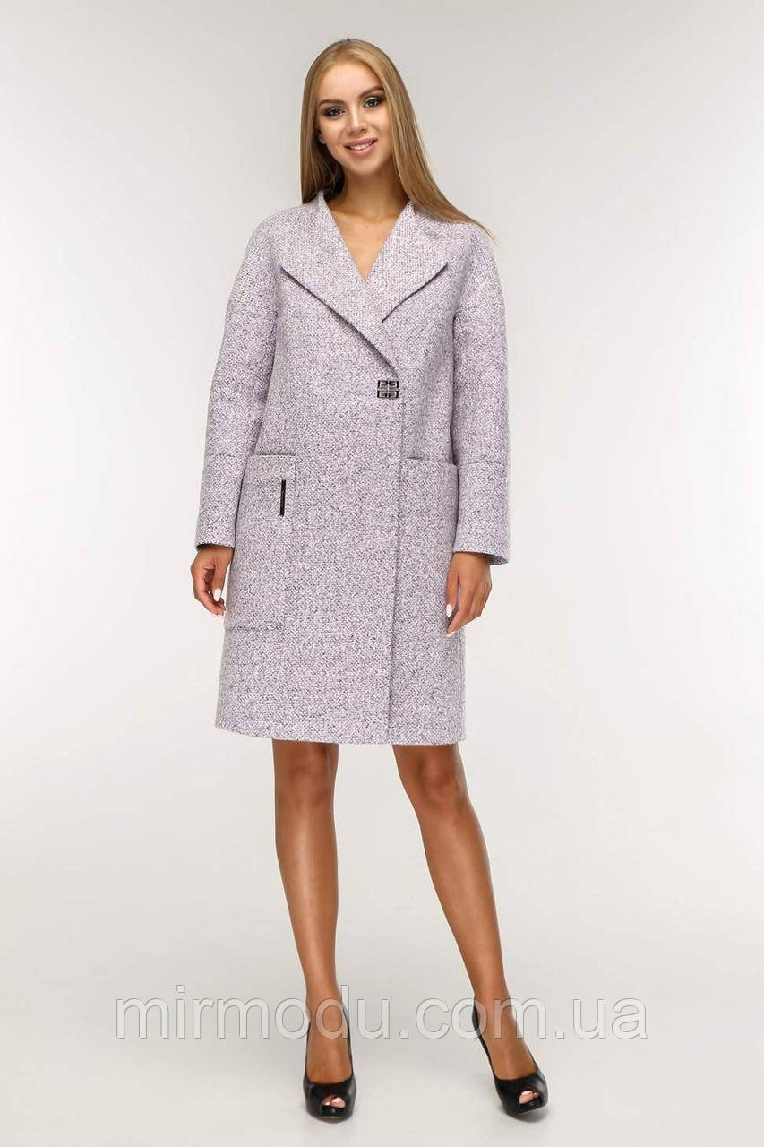 Женское демисезонное пальто В-1204  Тон 4 с 44 по 58 размер (фт)