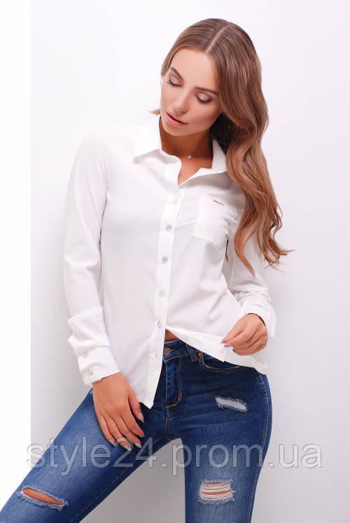 ЖІноча блуза на гудзики, 3 кольори .Р-ри 44-50