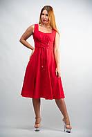 Платье без рукавов  женское от бренда Adele Leroy