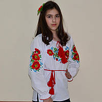 """Детская сорочка вышиванка для девочки """"Роксолана"""""""