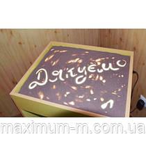 Стол для рисования песком с ножками с цветной подсветкой