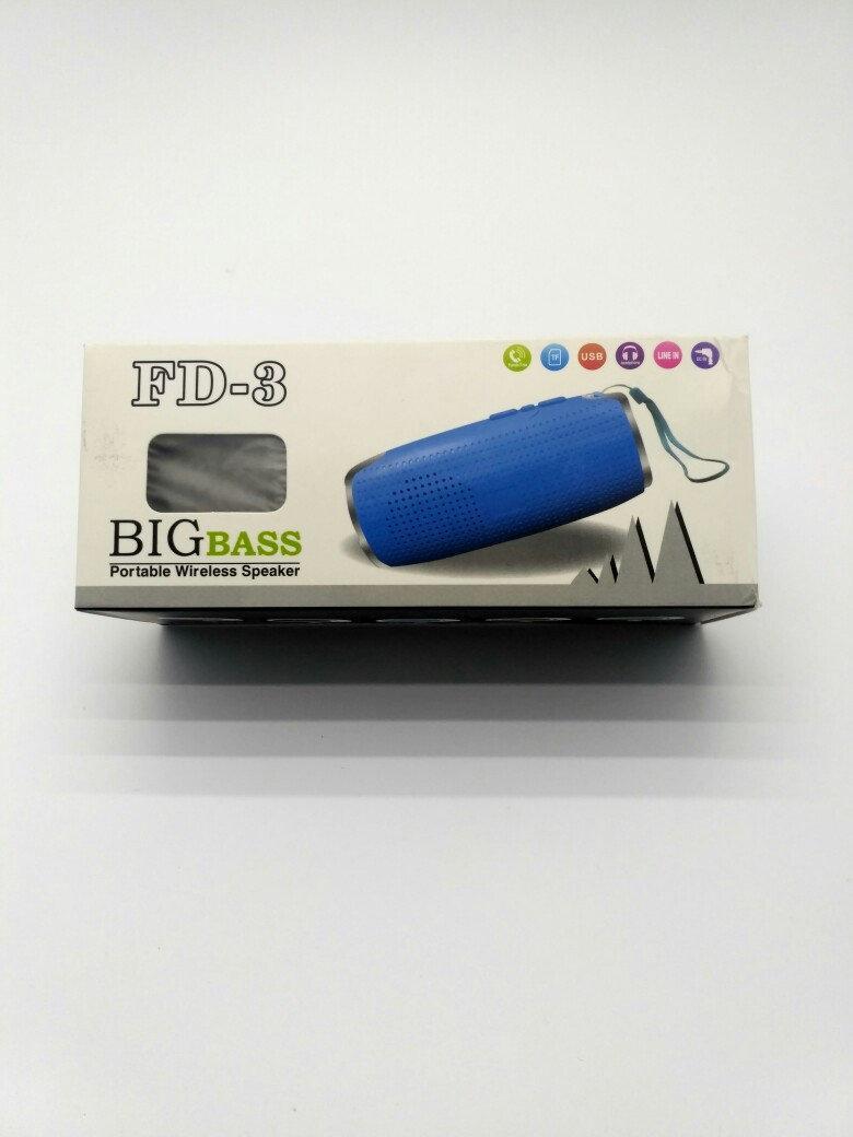 Портативная колонка BIG BASS FD-3