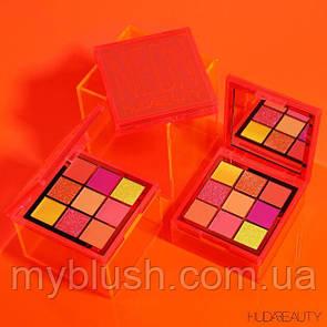 Тени Huda Beauty Neon Orange Obsessions