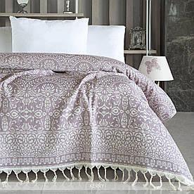 Покрывало Irya - Kerry lilac лиловый 240*250
