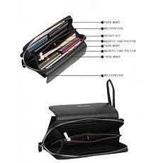 Мужской кошелек-клатч Baellerry 5515 черный, фото 3