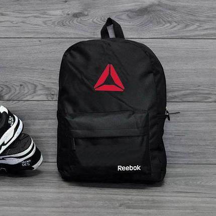 Спортивный, городской рюкзак рибок, Reebok. Черный. Стильный / R 1, фото 2