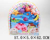 Коврик для малышей с погремушками, в сумке 57*5*62см /18/(2018-5A)