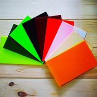 Проставки Микарта для рукоятки ножа № 94019 Цвет: оранжевый 1,6x80x130 мм., фото 1