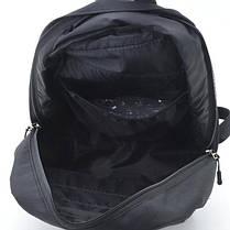 Стильный рюкзак Under Armour, андер темно-синего цвета с вставками кож зама черного цвета., фото 3