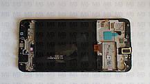 Дисплей с сенсором Samsung A105 Galaxy A10 Black, GH82-19367A, оригинал!, фото 2