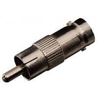 Коннектор GreenVision RCA/M-BNC/F(RCA-maletoBNC-female,I-type)(50)**** (3629)
