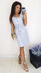 Платье  полоска 62607