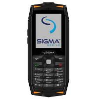 Мобильный телефон Sigma X-treme DR68 Black Orange (4827798283318)