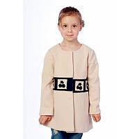 Пальто для девочки Chanel (0019 Beige)