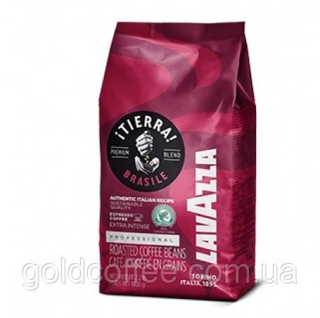 Зернова кава Lavazza Tierra Brasile Extra Intense, 1кг