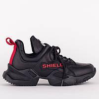 Женские черные кроссовки Lonza 147034 36 23 см, фото 1