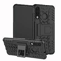 Чохол Armor для Huawei P30 Lite протиударний бампер чорний