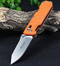 Нож ганзо туристический складной Ganzo (G735-OR) замок Axis-Lock