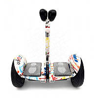 Гироскутер Mini сигвей граффити +Bluetooth колонка