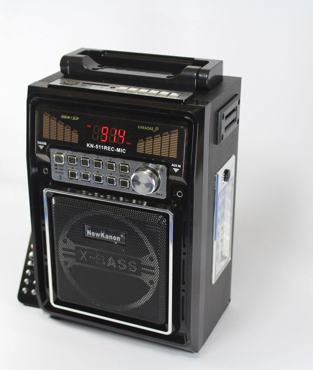 FM-приемники | Радио | Портативное радио | Портативный радиоприемник KN-511