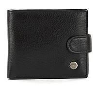 Чоловічий міцний гаманець з еко шкіри PILUSI art.208-12 чорний, фото 1
