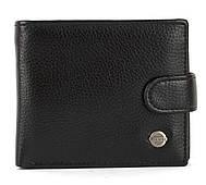 Чоловічий міцний гаманець з еко шкіри PILUSI art.208-12 чорний