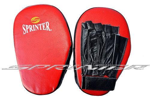 "Лапа боксерська ""Sprinter"". Пряма, шкіра. Пакистан."