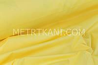 Однотонная польская бязь жёлтая 135 №146