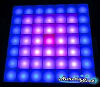 Светодиодная пиксельная панель настенная W-142-7*7-4, фото 1