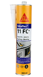 Клей-герметик Sika Sikaflex-11FC+ 300 мл Чорний