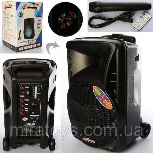 Портативная аккумуляторная Bluetooth колонка с микрофоном X15704 купить